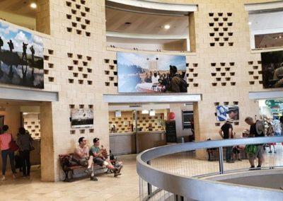 """צילום מתוך תערוכה זמנית של צה""""ל שהוצגה במרכז המבקרים מצדה"""
